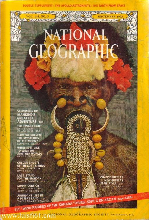 Resultado de imagen para National Geographic años 70