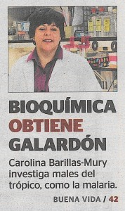 131015 Bioquimica obtiene galardon