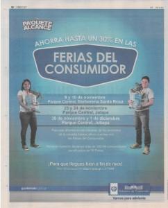 131107 Ferias del consumidor