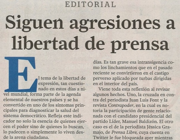 150115 Editorial Prensa Libre