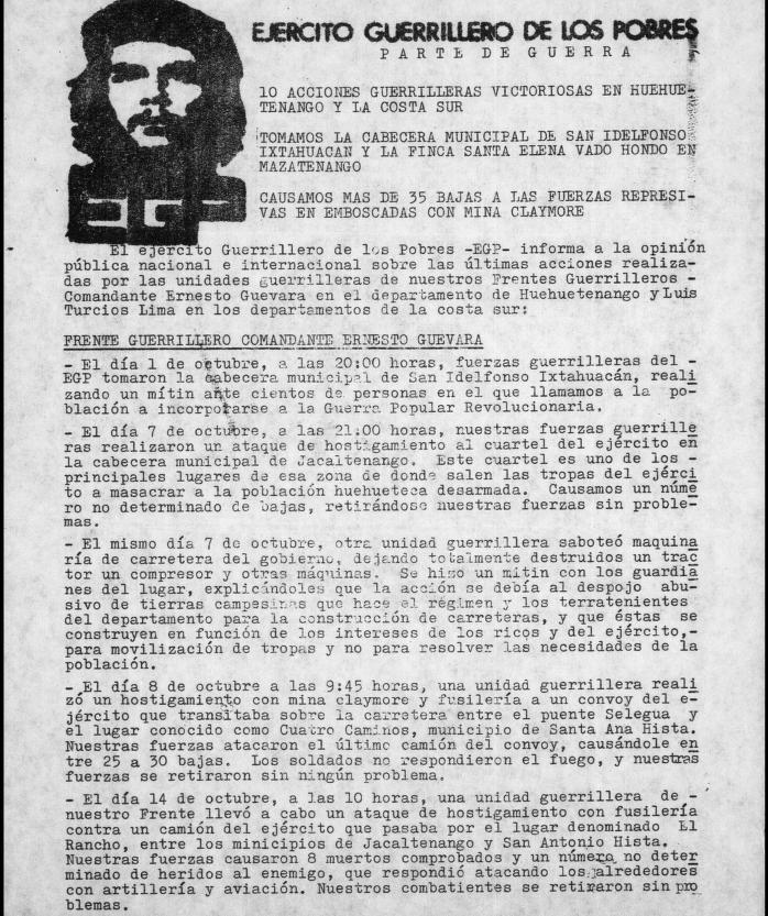 PARTE DE GUERRA EGP 25OCT1981