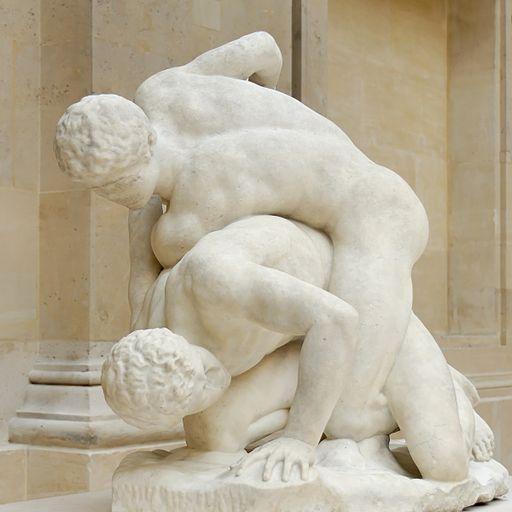 512px-Uffizi_wrestlers_Magnier_Louvre_MR2040